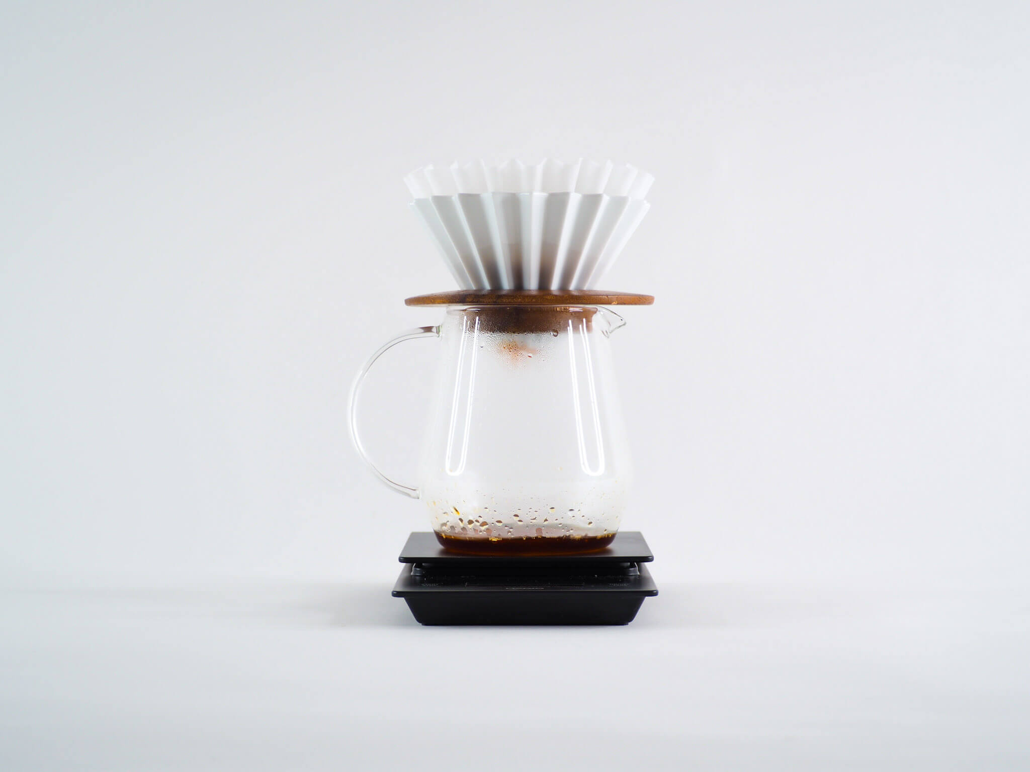 5 ways to brew coffee origami dripper