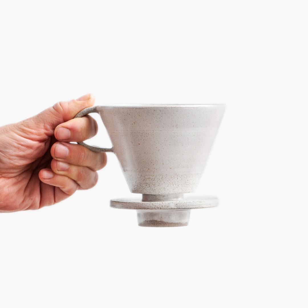 Birdman's Home Coffee Dripper white