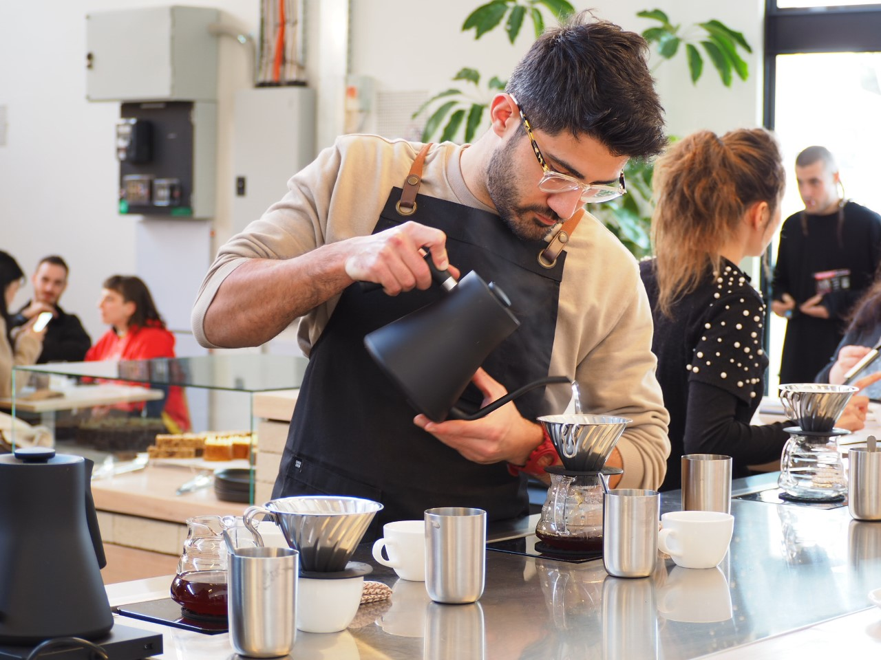 ONA Coffee Melbourne pour over