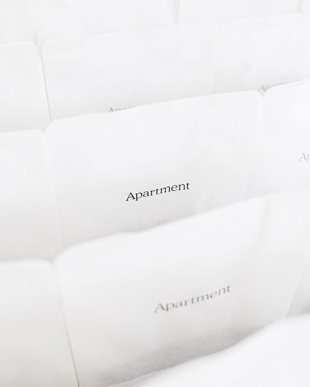 Apartment Coffee retail bag