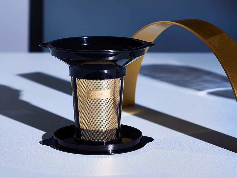 Cores coffee gold filter basket