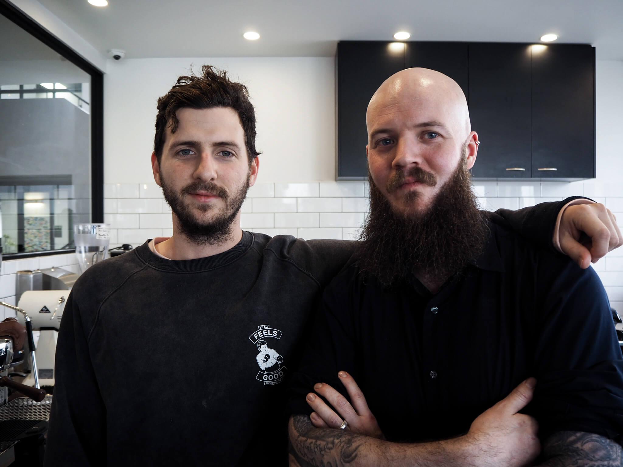 Subzero Coffee Kirk and Todd