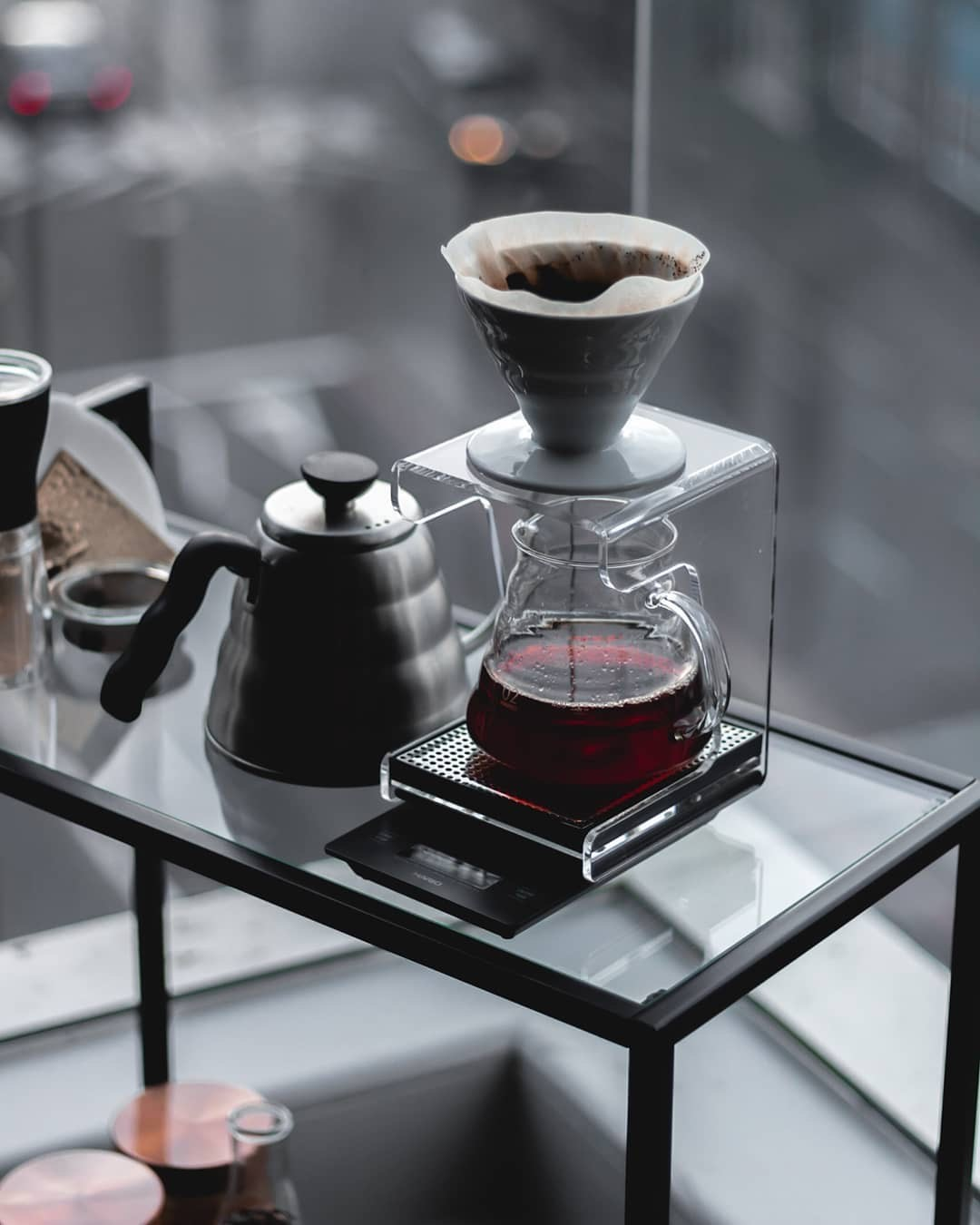 Coffee Brewing Station with Hario V60