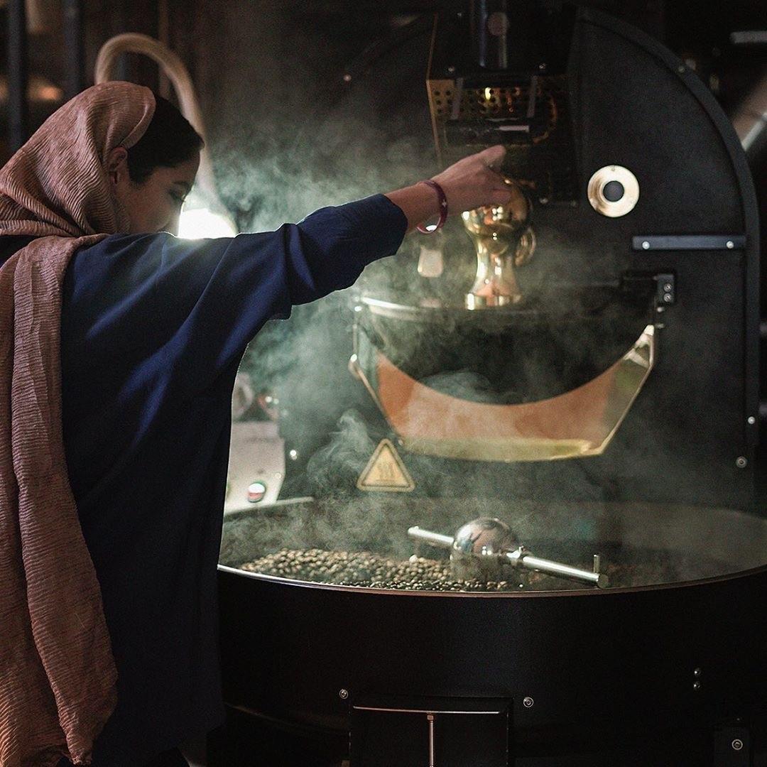 Sam Coffee Roasters Roasting
