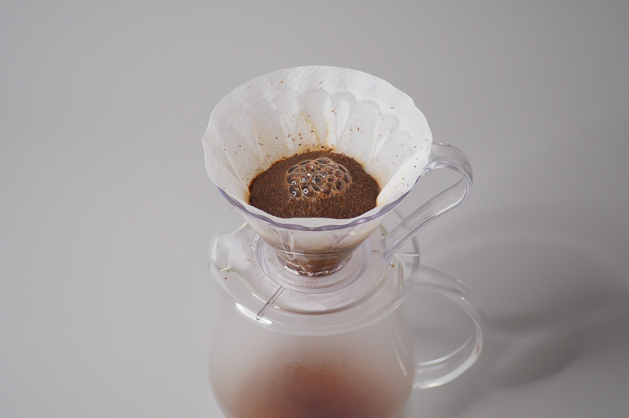 Coffee-bloom